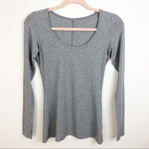 LULULEMON my mantra long sleeve heathered grey 4